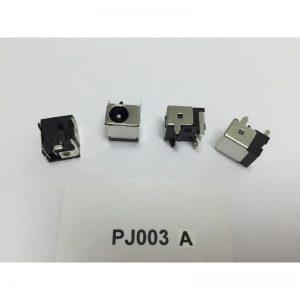 Fiche d'alimentation pour pc portable PJ003 A