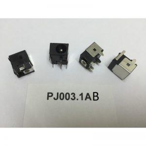 Fiche d'alimentation pour pc portable PJ003.1A B