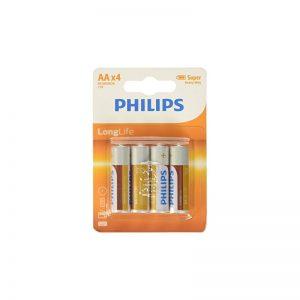 Piles AA Philips longlife