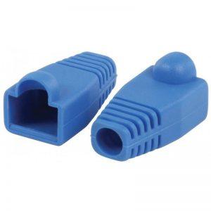 Gaine serre-câble pour fiche RJ45 ValueLine ( 10 Pcs) Bleue