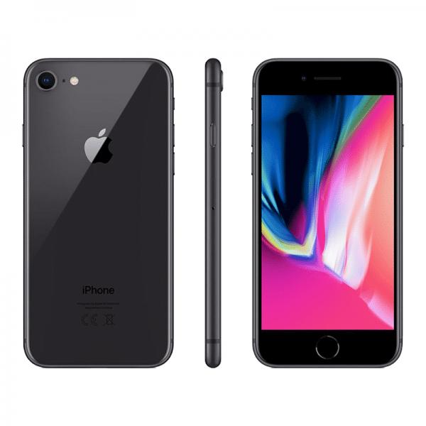 Iphone 8 Noir 64GB reconditionné avec accessoires et boite