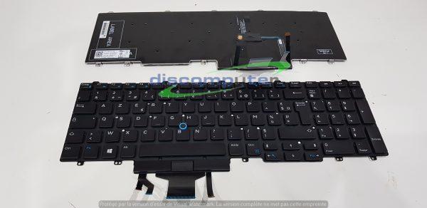 clavier azerty français dell E5550 - E5590