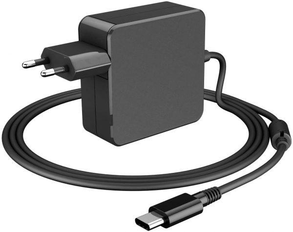 chargeur laptop USB Type C 65 W