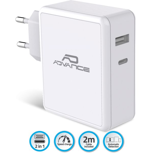 Chargeur pc type c 45 w