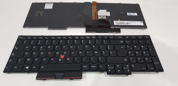 clavier azerty lenovo p50 p70